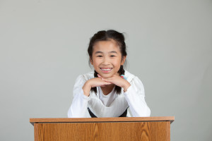 Academy for Public Speaking Pre-Teen Graduate
