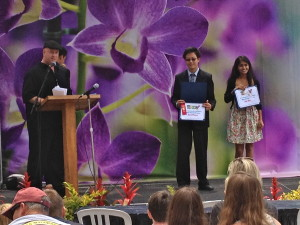 Academy for Public Speaking graduates win awards at the 2013 San Diego County Fair Oratorical Contest