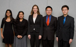 Academy for Public Speaking graduates competed in the 2014 Encinitas Lions Club Speech Contest