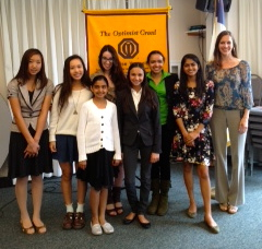 Academy for Public Speaking graduates win top honors at the Del Mar Solana Beach Optimist Club Speech Contest