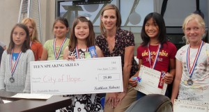Academy for Public Speaking supports City of Hope