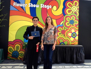 Academy for Public Speaking graduate Austin Zhang won second place in the 2014 San Diego County Fair Oratorical Contest
