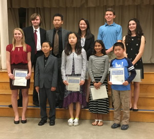 Academy for Public Speaking Graduates Win the 2016 Allied Gardens Optimist Club Oratorical Contest in San Diego