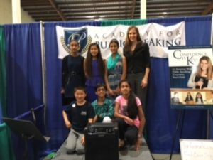 Academy for Public Speaking at the San Diego Kids Expo - Spring 2016